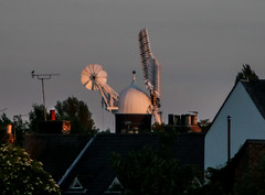 Holgate Windmill from the north on midsummer evening