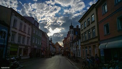 Freising (trishlechman) Tags: travel holiday architecture clouds germany landscape bavaria photography town nikon cityscape hike tokina adventure freising nikond90