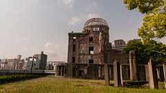 Genbaku Dome (TheSpaceWalker) Tags: japan photography photo nikon wwii pic hiroshima 1750 tamron atomicbomb abomb abombdome d300 genbakudome hiroshimaprefecturalindustrialpromotionhall thespacewalker