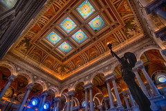 The Library of Congress (Lynleigh Cooper) Tags: new travel blue light red summer vacation orange usa color art history love colors beautiful beauty yellow architecture america photography washingtondc photo washington nikon colorful pretty photographer tour photos library sightseeing naturallight arches stainedglass books tourist historic handheld destination historical libraryofcongress lovely fullframe stainedglasswindow historicalsite discover traveler photooftheday vividcolor d600 nikond600 bestoftheday