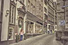 (Paul B0udreau) Tags: cochem germany street people selectivecolour cellphonephotography