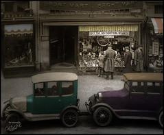 Get the Boy Something He Wants! (Digital Lady Syd) Tags: vintage shopping washingtondc oldcars shorpys