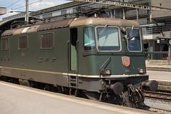 SBB Re 4/4 420 161 Luzern (daveymills31294) Tags: luzern sbb 420 re 44 161 ffs cff baureihe 11161
