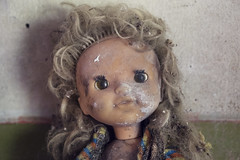 Doll face, Chernobyl. (Sean Hartwell Photography) Tags: abandoned decay radiation nuclear ukraine disaster radioactive discarded 1986 sovietunion ussr chernobyl 30years pripyat kopachi