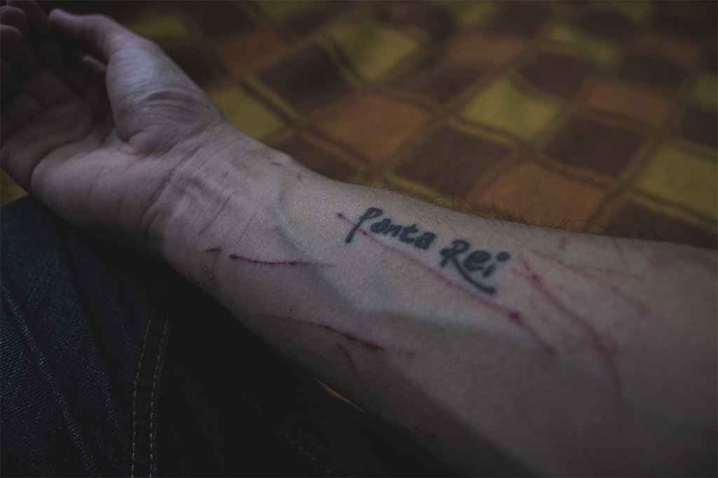 The world 39 s best photos of arm and wound flickr hive mind for Flesh wound tattoo