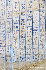 A lot of hieroglyphs (konde) Tags: statue ancient limestone 18thdynasty hieroglyphs newkingdom amarna