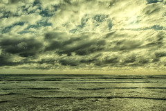 Stormy Sea_0303 (Manni750) Tags: ocean sea sky cold beach clouds waves dramatic windy stormy gry
