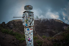 Mt. Vesuvius - Amazon to NASA (D. Scott Taylor) Tags: italy pompeii vesuvius tourist caldera volcano stickers blue brown