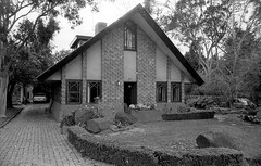 Eaglemont Lippincott house 1978, B+W 1970s- sheet 161 08 (Graeme Butler) Tags: architecture heritage landscape victoria australia