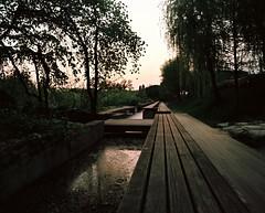 Sonyudo Park Bench (Lig Ynnek) Tags: park seoul southkorea ektar pentax67 ektar100 sonyudo