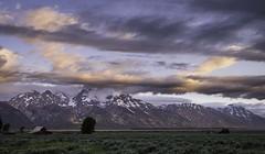DSCF9398lr (HDRob) Tags: mormonrow grandtetonnationalpark grandtetons mountains barn clouds landscape
