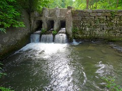 Mill Dam (ironmike9) Tags: water creek outlet skaneatelesny dam mill industry wall