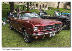 Ford Mustang (Paul Simpson Photography) Tags: fordmustang 1965 lincoln lincolncastle lincolnclassiccarshow lincolnshire sonya77 may2016 paulsimpsonphotography photoof photosof imageof imagesof classiccar americancar americanclassic transport motorshow musclecar