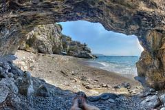 Mia visione (Minieri Nicola) Tags: travel sea summer beach landscape mare amalficoast estate rocce spiaggia viaggiare
