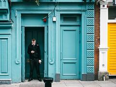 Smoke Break (hduongterp) Tags: street ireland people dublin smoker