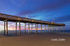 Ocean City, NJ (Dante Fratto Photography) Tags: ocean sunrise newjersey seascapes beaches oceancity oc coastlines oceancityfishingpier oceancityfishingclub wwwdantefrattophotographycom