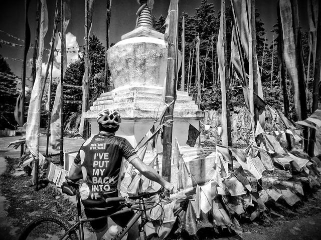 PelleLa Memorial Stupa. BHUTAN.