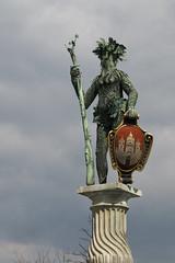 Wilder Mann Brunnen Statue - Salzburg (konceptsketcher) Tags: salzburg art statue photography austria europe brunnen fantasy stadt troll mann wilder figur oesterreich groot 2015 canon70d konceptsketcher