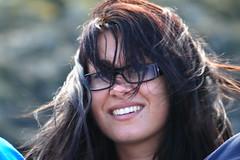 IMG_0483 French woman (marinbiker 1961) Tags: glasses fife frenchwoman longdarkhair mayisle