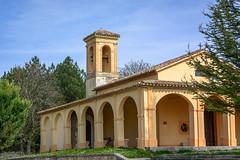Santuario Madonna della neve - Purello (Leonardo Piccioni) Tags: italy landscape nikon churches umbria chiese nikkor1685vr