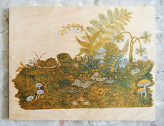 """""""LOG"""" Woodcut // Red & Yellow Blocks (Tugboat Printshop) Tags: wood pink fern color art nature mushroom yellow forest print moss log carving artists printmaking grasshopper process edition plywood woodcut woodcarving woodblock hollowlog woodcutprint tugboatprintshop traditionalprintmaking colorwoodcut woodcutprintmaking printmakingprocess woodblockprintmaking forestwoodcut traditionalwoodcut pittsburghprintmaking tugboatprintshopwoodcut"""