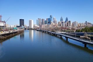 The Schuylkill River in Philadelphia