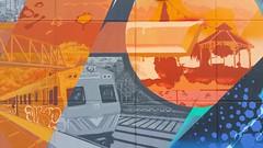 Heesco, Shame, Conrad Bizjak & Tanea... (colourourcity) Tags: streetart train graffiti ross metro awesome duke melbourne panels seb shame acm stops erg tanea nofilters wsw cka stopem heesco addictedtotrains burncity conradbizjak colourourcityoz