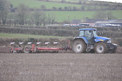 New Holland TM175 Tractor with a Kverneland 6 Furrow Plough (Shane Casey CK25) Tags: county new blue ireland red horse irish 6 tractor holland field barley work pull spring hp corn traktor earth farm cork farming grain working ground nh soil dirt till crop land crops farmer agriculture pulling plough turning sod tracteur trator stubble horsepower tilling ploughing trekker furrow cnh agri tillage kverneland traktori watergrasshill casenewholland tm175