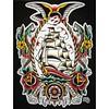 ship #boat #eagle #snake #tat #tattoo... (tats-4u) Tags: art rose tattoo boat ship eagle snake traditional flash tattoos tat tats tattooed traditionaltattoo uploaded:by=flickstagram instagram:photo=9087724841975544191657074005 tats4u