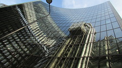 Curved Reflections 4 (cherylea_cater) Tags: london architecture buildings reflections skyscrapers gherkin walkietalkie cityoflondon lloydsbuilding leadenhall cheesegrater 20fenchurchstreet leadenhallbuilding 30maryaxe
