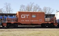 North Judson, Indiana (1 of 5) (Bob McGilvray Jr.) Tags: railroad train tracks indiana caboose gtw grandtrunkwestern hoosiervalleyrailroadmuseum northjudson