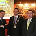 IHF2015 Jim Dollard, Electric Ireland, Stephen McNally, IHF President and Alan Waite, Brakes
