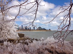 IMG_0079.JPG ((Jessica)) Tags: winter chicago ice frozen lakeshore icicles lakefront pw takenwithiphone