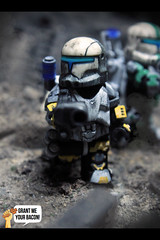 RC-1262 | Scorch (Grant Me Your Bacon!) Tags: boss trooper star republic lego delta sev wars squad custom clone commando scorch fixer
