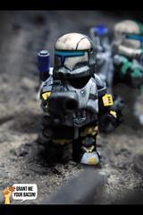 RC-1262 | Scorch (Grant Me Your Bacon!) Tags: boss trooper star republic lego delta sev wars squad custom clone commando scorch fixer