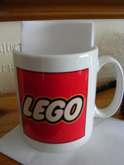 Annaversary 2012  Lego Mug G Gift 2012 (2) (GoodPlay2) Tags: vintage lego shop display system old rare early 1950s 1960s 60s 70s classic 1969 1968 1967