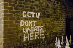 CCTV warning (Bahi P) Tags: london warning cctv tooting uniate