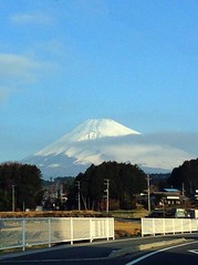 富士山を見たい!遠くから・・・