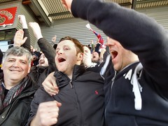 GOAL! Palace score at Stoke (Paul-M-Wright) Tags: city uk english march football crystal 21 stadium soccer saturday palace potd celebration match british fans premier stoke league supporters versus britannia 2015 cpfc scfc