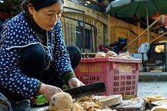 Ninh Binh Market (alex.picture) Tags: asia market coconut vietnam seller ninhbinh