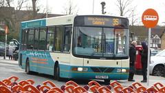 Spot the mistake (bobsmithgl100) Tags: bus woking surrey wright cadet daf knaphill route35 sb120 3934 yux arrivaguildfordwestsurrey gk52 gk52yux knaphillsainsburys
