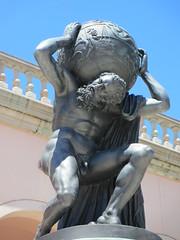 Atlas statue, Ringling Museum of Art, Sarasota, Florida (Paul McClure DC) Tags: sculpture architecture florida historic sarasota sarasotacounty may2014