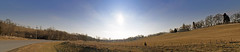West Virginia (Reg|Photography4Lyfe) Tags: road trees sky panorama sun west nature skyscape landscape photography virginia pano sony panoramic wv photograph westvirginia valley land 1870mm dslra200