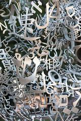 Numbers, Letters & Symbols_4113 (adp777) Tags: letters symbols juameplensa numberssymbolsletters wavesiii davidsoncollegesculpture