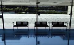 Institut du monde arabe, Paris (blafond) Tags: paris glass architecture institutdumondearabe rivegauche ima verre moucharabieh emptyseats siegesvides