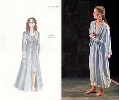 Lady Macbeth--nightgown
