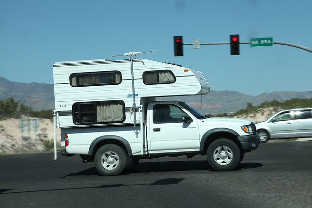 arizona truck pickup az explore cottonwood toyota tacoma camper explore101