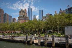 Battery Park, New York (Oleg.A) Tags: batterypark cityscape hudsonriver usa newyork megalopolis