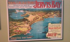Jervis Bay old advertising for a new housing subdivision.NSW (denisbin) Tags: advertising bay housing jervis jervisbay