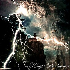 once upon a stormy night (... Knight Production ...) Tags: lighting lighthouse night cloudy stormy rainy knightprouduction cableknight onceuponastormynight